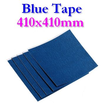BlueTape printing bed adhesive sheet 410x410mm 2, 5 or 10 sheets