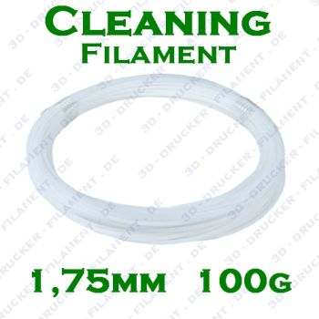3DZ CLEANING 1,75mm 100g Reinigung 3D Drucker Filament