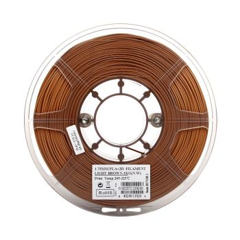 eSun PLA+ Filament light brown 1.75mm 1kg