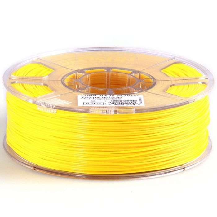 eSun ABS+ Filament yellow 1.75mm 1kg