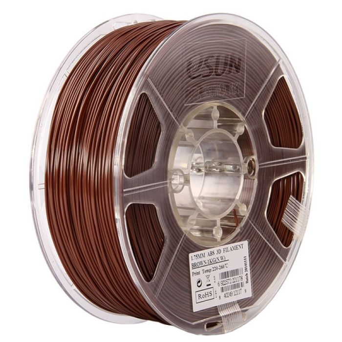 eSun ABS+ Filament brown 1.75mm 1kg