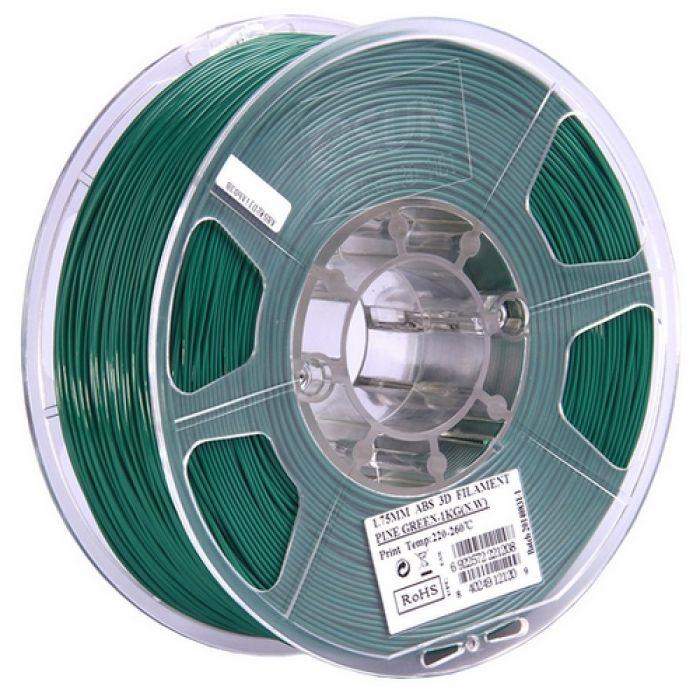 eSun ABS Filament pine green 1.75mm 1kg