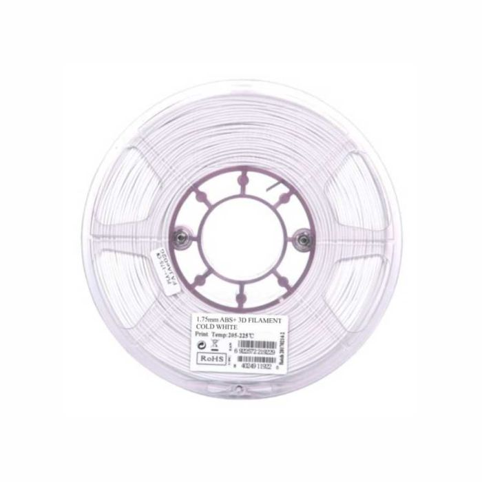 eSun ABS+ Filament cold white 1.75mm 1kg
